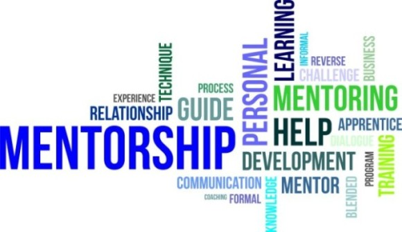 word cloud - mentorship