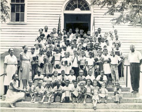 Second Calvary Baptist Church VBS c. 1955