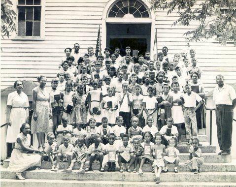 Second Calvary Baptist Church VBS c. 1955